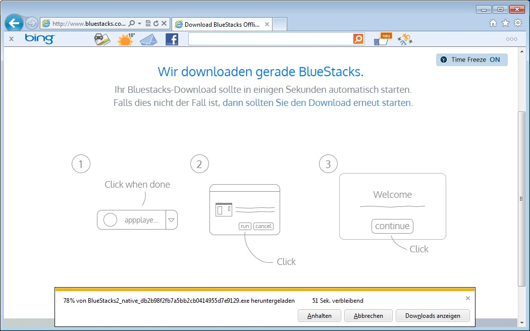 BlueStacks: Download