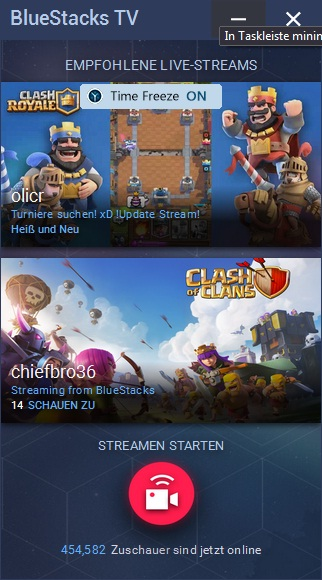 BlueStacks TV: Live Stream